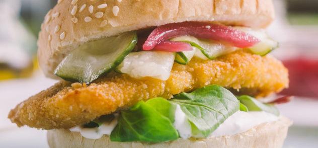 Receta de hamburguesa de bacalao Royal